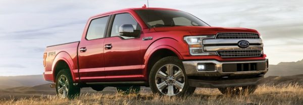 red 2020 Ford F-150